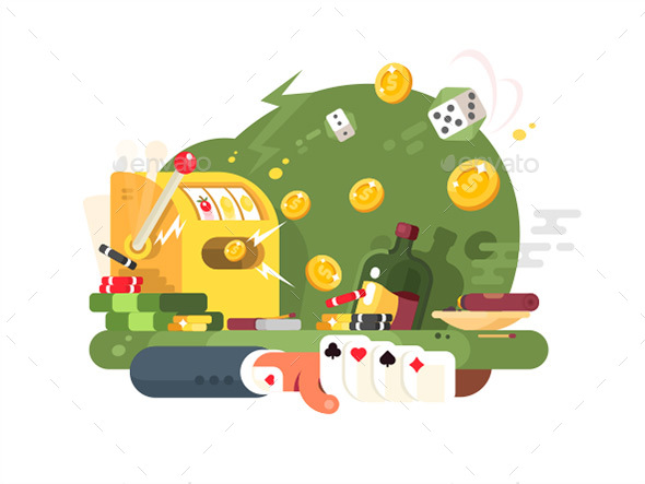 Casino Gambling Games - Miscellaneous Vectors
