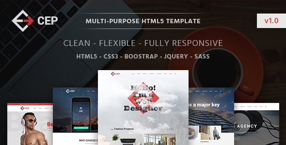 CEP | The Multi-Purpose HTML5 Template HTML5 Template