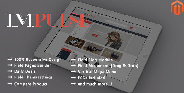 Impulse – Responsive Magento 2 Theme