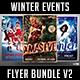 Winter Events Flyer Bundle V2 - GraphicRiver Item for Sale
