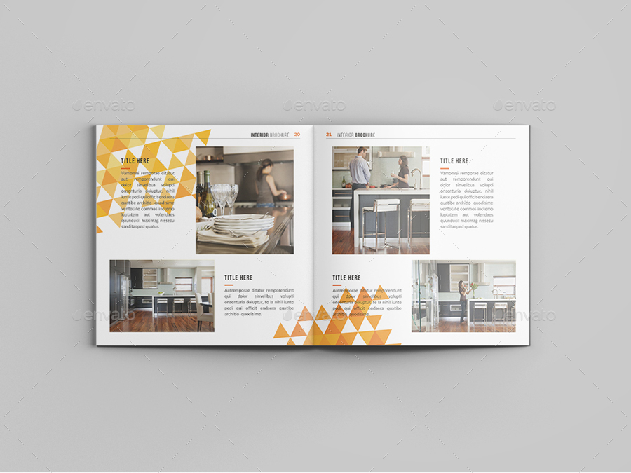 square abstract interior design brochure by tripleef graphicriver
