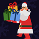 Santa Cartoon Character Animation Pack - VideoHive Item for Sale
