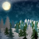 Snowy Hills Background - VideoHive Item for Sale