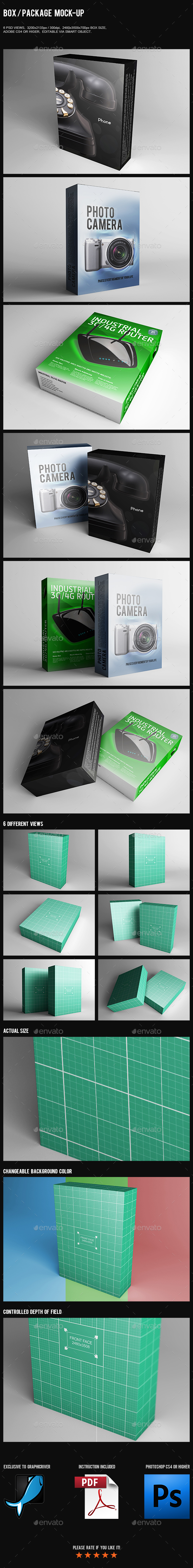 Box / Package Mock-Up