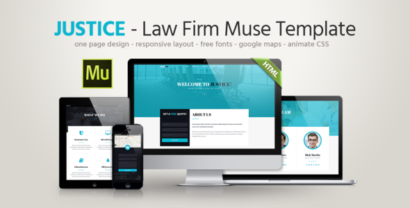 Justice – Law Firm Template