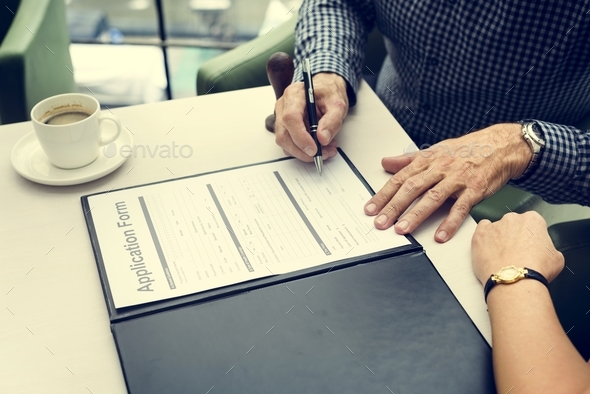 Business Contract Documents Sign Signature  Concept - Stock Photo - Images