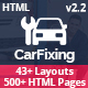 CarFixing | Car Repair & Car Wash Responsive HTML5 Template - ThemeForest Item for Sale