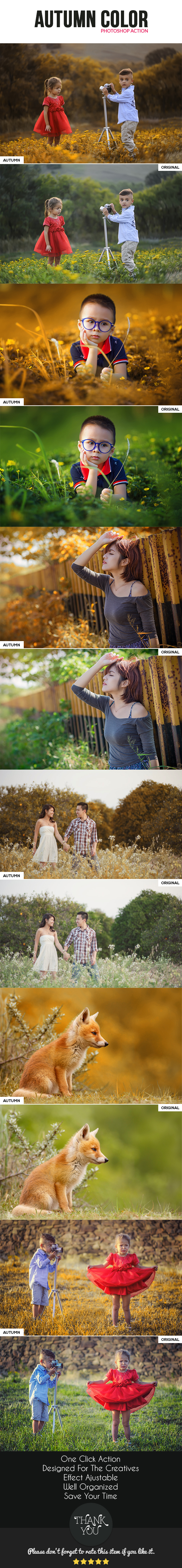 Autumn Color - Photo Effects Actions