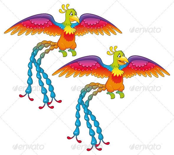 Phoenix - Animals Characters
