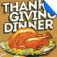 Thanksgiving Dinner Invitation Flyer Template