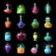 Magic Bottles Icon Set - GraphicRiver Item for Sale