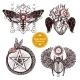 Magic Occult Tattoo Set