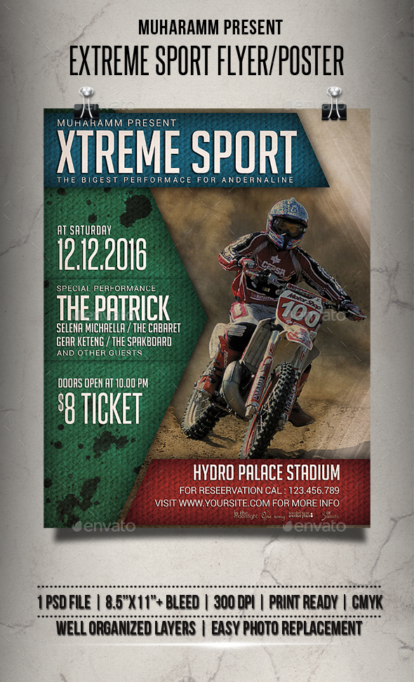 Extreme Sport Flyer / Poster - Events Flyers
