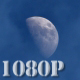 Day Moon and Clouds - VideoHive Item for Sale