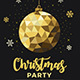 Christmas Gold Party - GraphicRiver Item for Sale