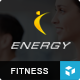 ENERGY - Responsive WordPress Fitness Theme Nulled