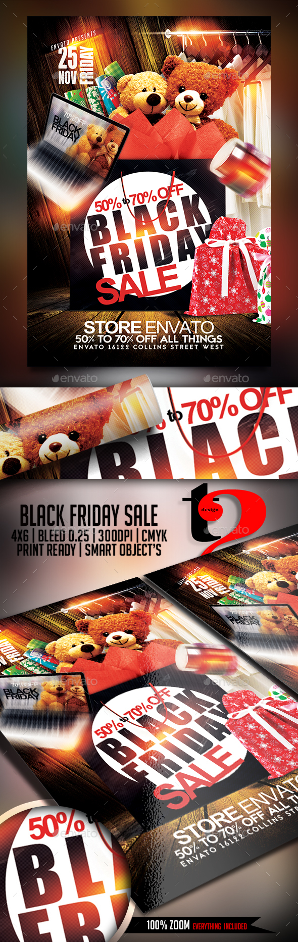 Black Friday Sale template - Holidays Events