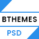 BTHEME - Multipurpose PSD Template - ThemeForest Item for Sale