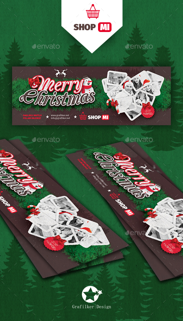 Christmas Cover Templates - Facebook Timeline Covers Social Media