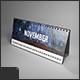 Desk Calendar Mock-Up - GraphicRiver Item for Sale