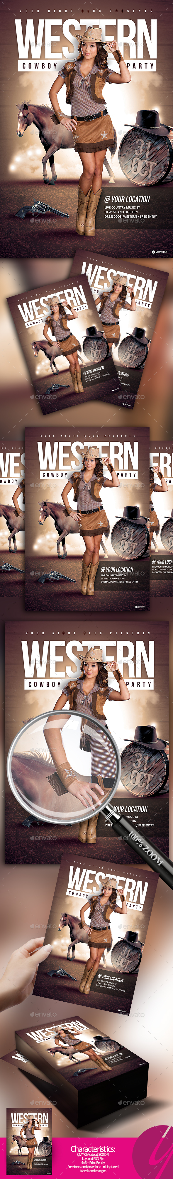 Western Cowboy Party - Clubs & Parties Events