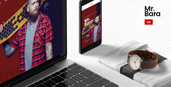 Mr.Bara – Responsive Multi-Purpose eCommerce WordPress Theme