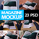 Magazine Mockups Huge Pack - GraphicRiver Item for Sale