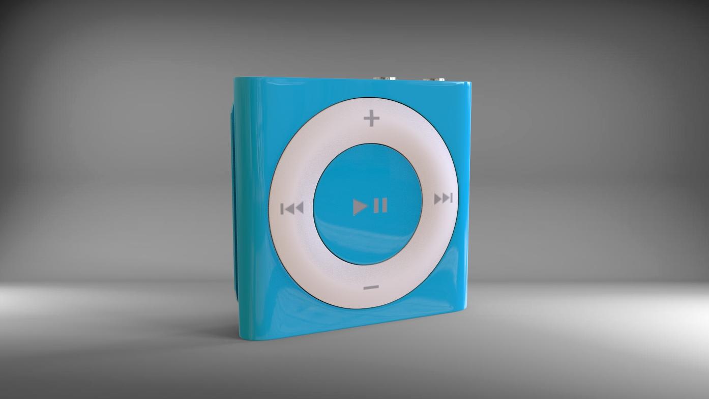 Highpoly Apple Ipod Shuffle