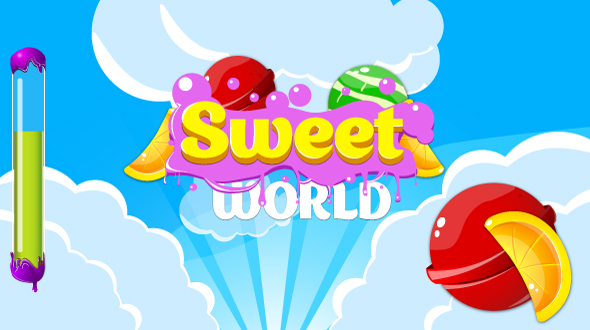 Bubbles world - HTML5 fun game + Mobile control + AdMob - 9