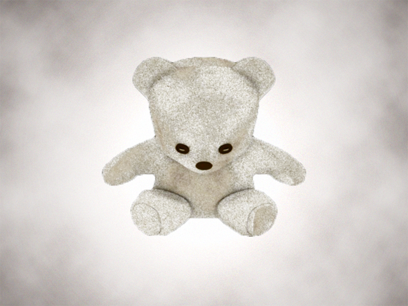 Simple Teddy Bear - 3DOcean Item for Sale