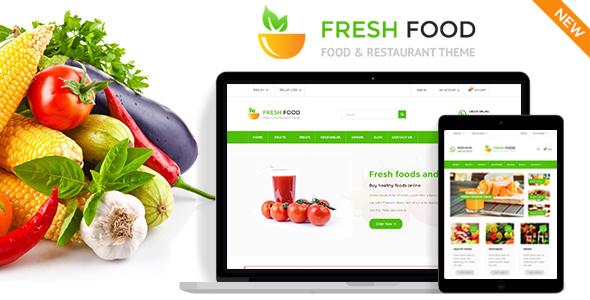 Fresh Food - Specific Prestashop Theme for Food & Restaurant Stores