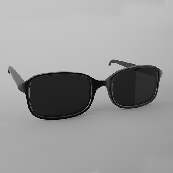 Highpoly Glasses - Sunglasses - 3DOcean Item for Sale
