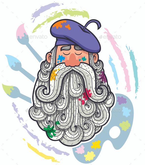 Artist Portrait - People Characters