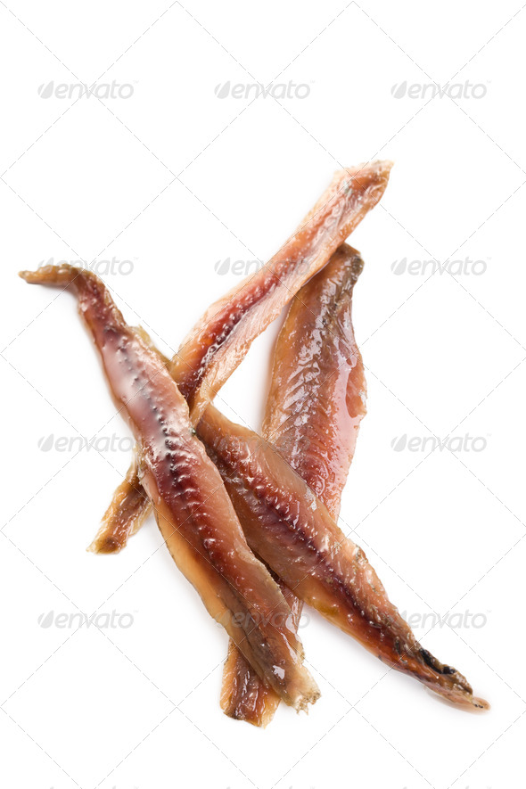 anchovies fillets - Stock Photo - Images