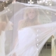 Cute Bride Dancing Near Mirror In Wedding Gown - VideoHive Item for Sale