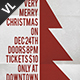Merry Christmas Poster / Flyer V10 - GraphicRiver Item for Sale