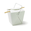 Takeaway Food Container with Chopsticks - PhotoDune Item for Sale