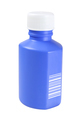 Blue Plastic Medicine Bottle - PhotoDune Item for Sale