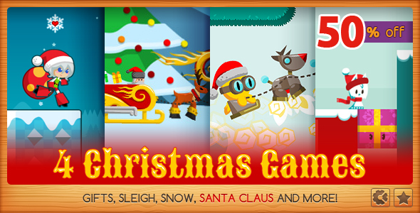 Christmas Games Bundle - CodeCanyon Item for Sale