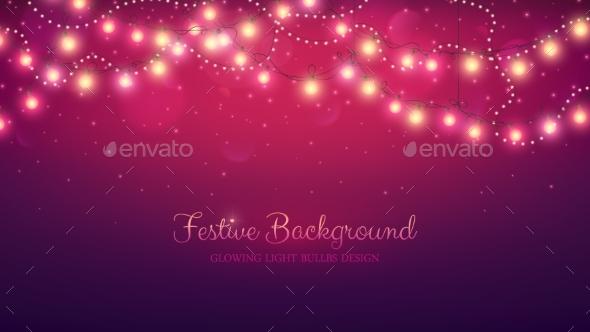 Abstract Vector Background - Christmas Seasons/Holidays