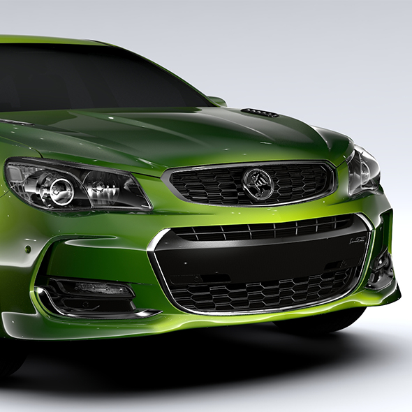 Holden Commodore SS Sportwagon VF Series II 2016 - 3DOcean Item for Sale