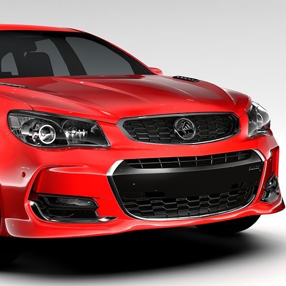 Holden Commodore SS V Redline Sportwagon VF Series II 2016 - 3DOcean Item for Sale