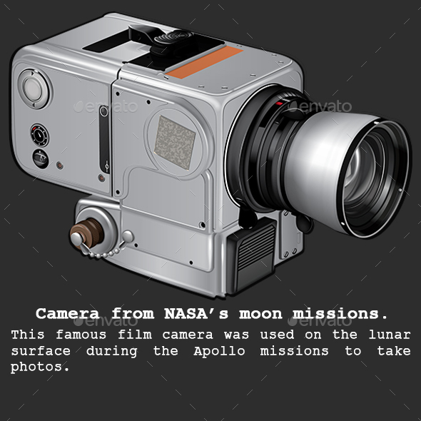 Moon Camera - Man-made Objects Objects
