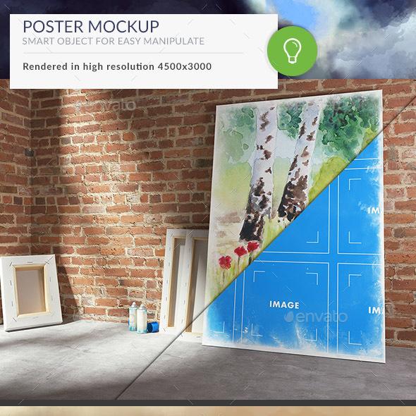 Painting Mockup 4K - Miscellaneous Print