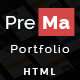 Prema - Personal Portfolio HTML One Page Template. Nulled
