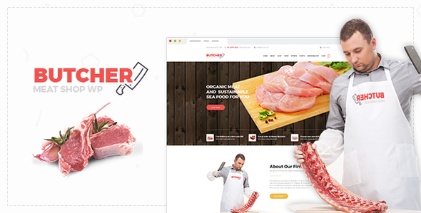 Butcher – Meat Shop Woocommerce WordPress Theme
