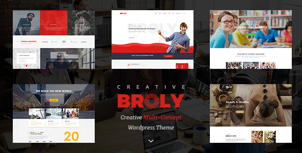 Broly - Creative Multi-Concept WordPress Theme - Creative WordPress