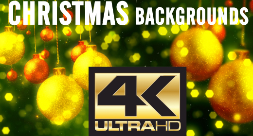 4K UHD Christmas Backgrounds