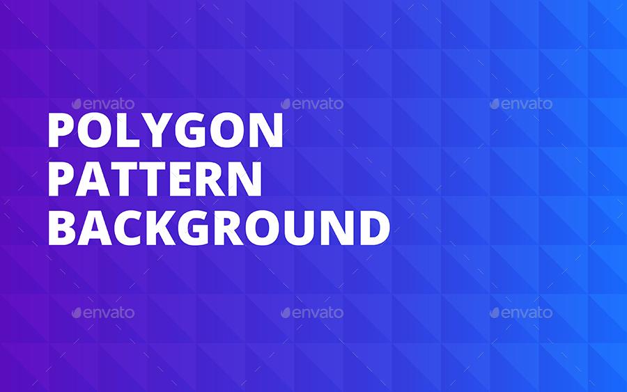 Polygon Pattern Background