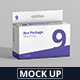 Package Box Mockup - Slim Rectangle with Hanger - GraphicRiver Item for Sale
